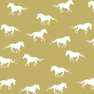Hawthorne Threads - Horse Silhouette - Horse Silhouette in Brass