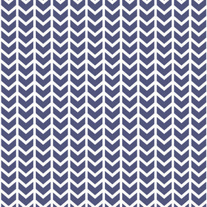 Hawthorne Threads - Broken Chevron - Broken Chevron in Indigo