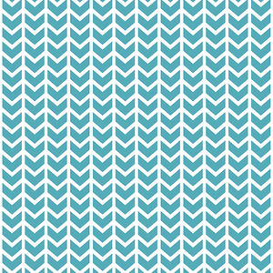 Hawthorne Threads - Broken Chevron - Broken Chevron in Lagoon