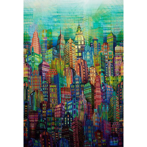 Hoffman Skylines Digital Prints City Multi