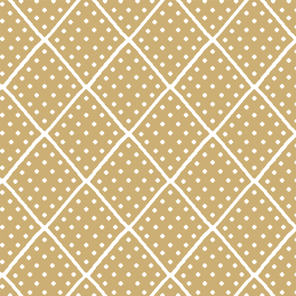 Fawn | Lattice in Golden Canyon Fabrics - Afterpay & Free Shipping AU
