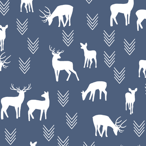 Hawthorne Threads - Deer Silhouette - Deer Silhouette in Midnight