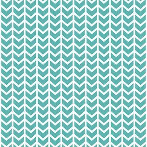 Hawthorne Threads - Broken Chevron - Broken Chevron in Seafoam