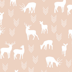 Hawthorne Threads - Deer Silhouette - Deer Silhouette in Shell
