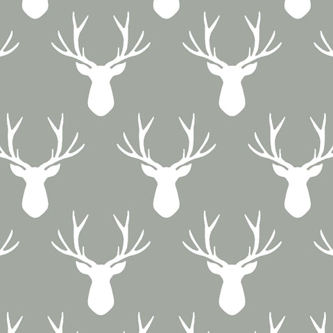 Oh Deer | Stag Silhouette in Sage - Afterpay & Free Shipping AU