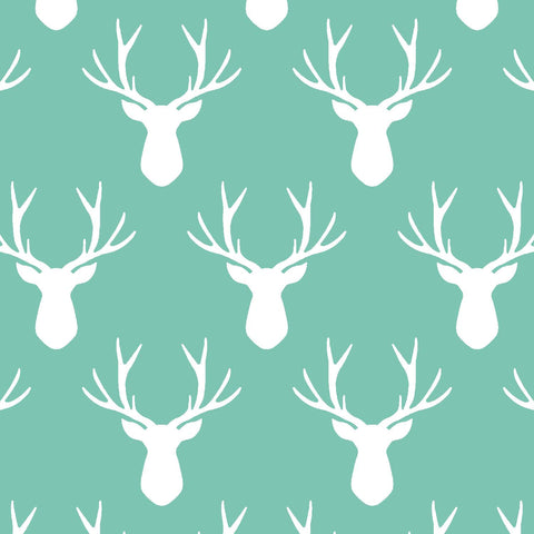 Oh Deer | Stag Silhouette in Succulent - Afterpay & Free Shipping AU