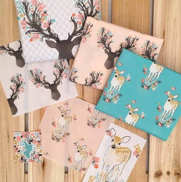 Fawn | Fawn Forest Border in Shell