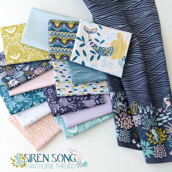 Hawthorne Threads Digital Fabrics - Siren Song - Afterpay & Free Shipping AU