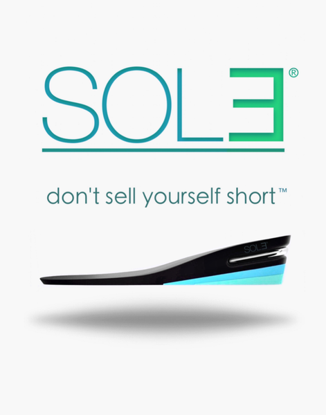 lifts for shoes that make you taller | SOL3® — Height Increasing Insoles: 1 to 2+ Inch Shoe Lifts