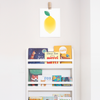 Lemon Art Print – Fruit Printed Art and Wall Decor
