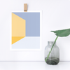 Mélange No. 3 Geometric Art Print – Modern Wall Decor