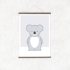 Kids' Art Print – Cute Koala Wall Print and Nursery Art