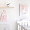 Olivia Rabbit Kids' Art Print
