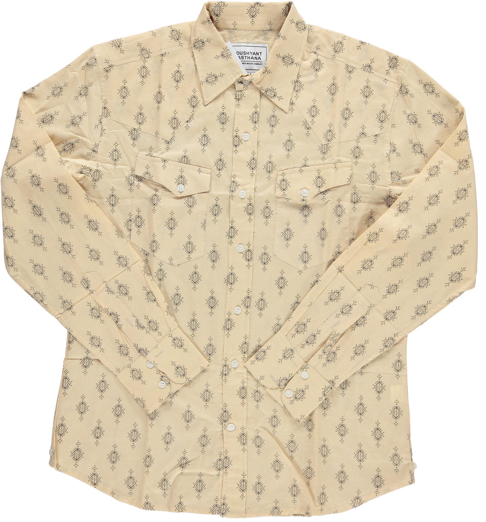 'The Bandit' Western Shirt in 'Nomad' Print