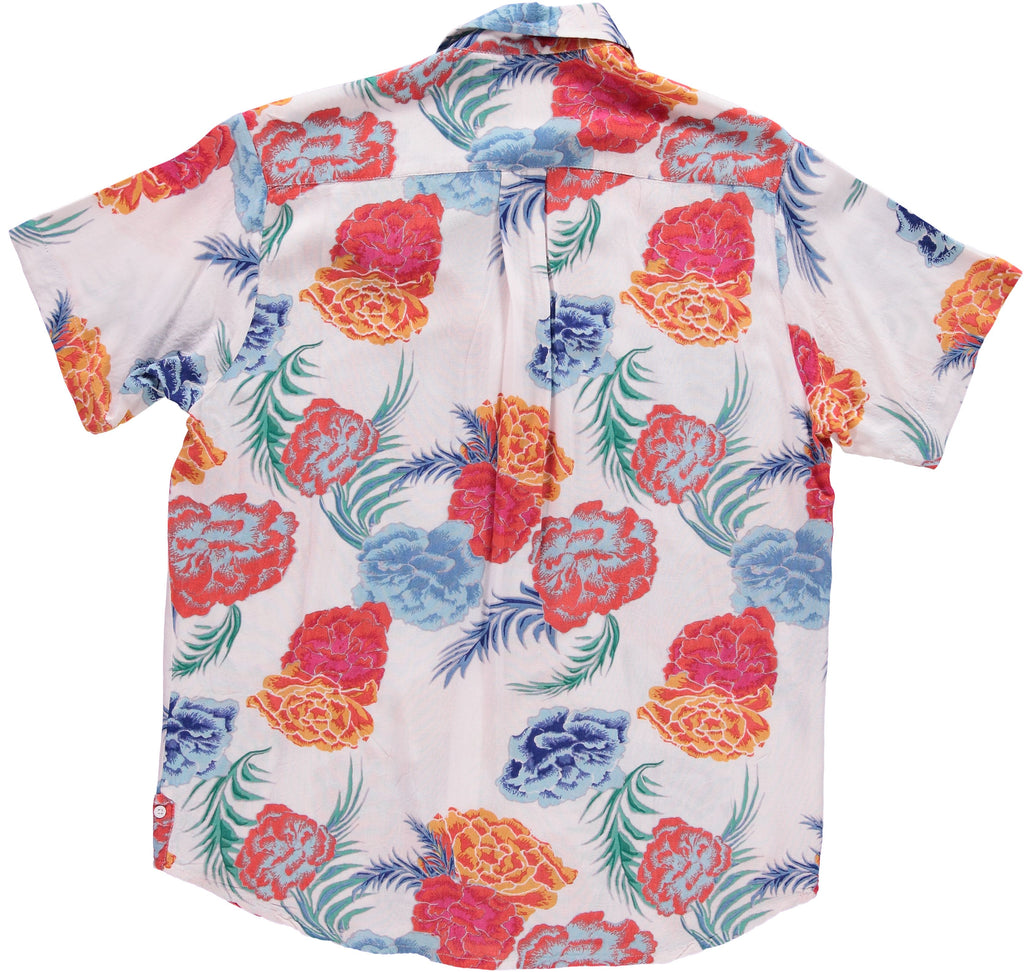 The Tokyo Shirt - White Floral Print