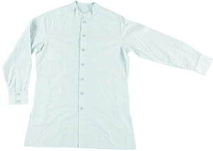 Garment Dyed 'Jaipur' Overshirt in Pastel Blue