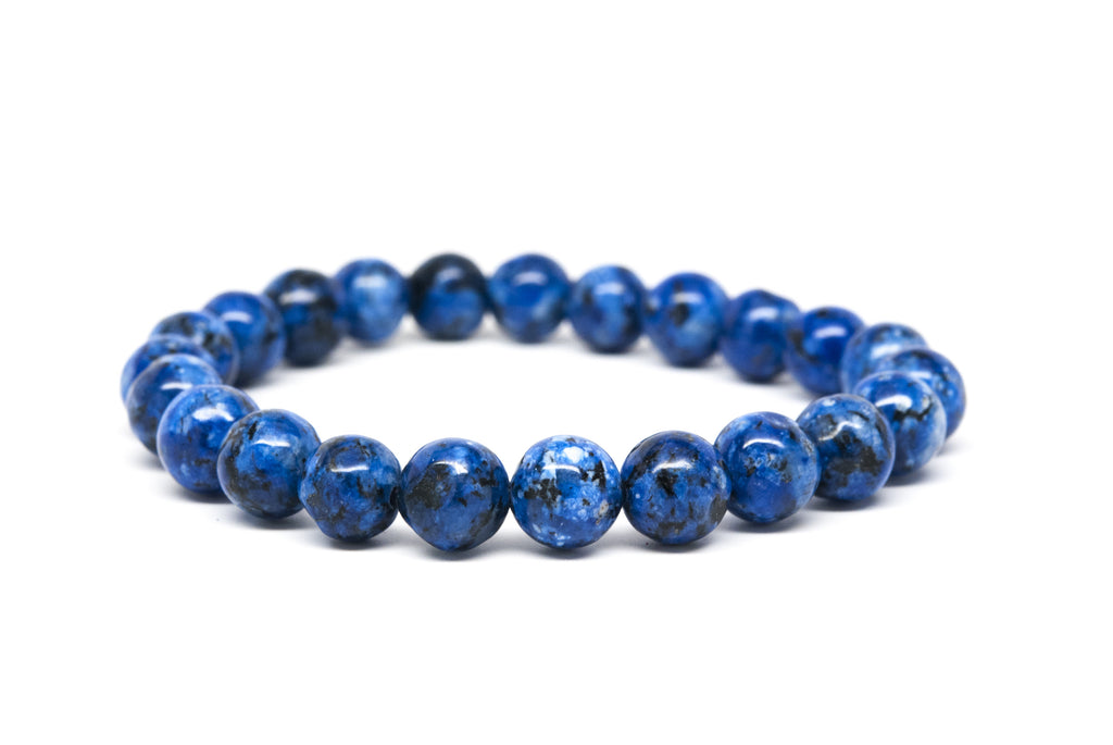 Jasper Stone Beaded Mens Bracelet - Orti Jewelry