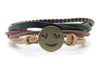 Emoji Bracelet Smiling Face With Heart Shaped Eyes - Orti Jewelry