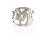 Antique Silver Plated Adjustable Ring - Orti Jewelry