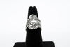 Blow Antique Silver Plated Adjustable Ring - Orti Jewelry