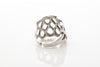 Forever Antique Silver Plated Adjustable Ring - Orti Jewelry