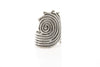 Maze Antique Silver Plated Adjustable Ring - Orti Jewelry