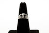 Owl Antique Silver Plated Adjustable Ring - Orti Jewelry