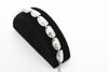 Hat Antique Silver Plated Vintage Bracelet with Adjustable Length - Orti Jewelry