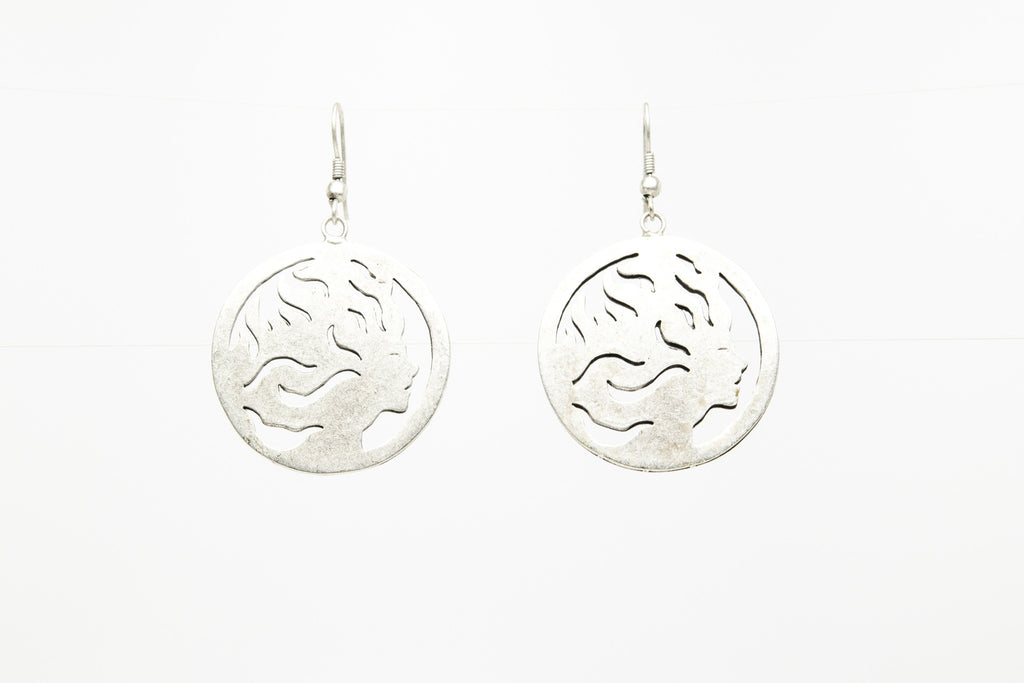 Women Silver Plated Dangle Fashion Earrings