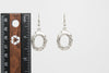 Silver Plated Dangle Fashion Earrings - Orti Jewelry