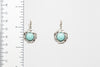 Turquoise Dangle Fashion Earrings - Orti Jewelry