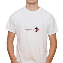 Load image into Gallery viewer, Adult Cotton T-Shirt with 1 Small Logo