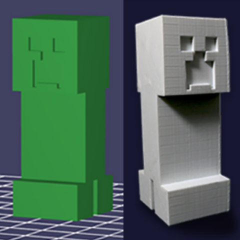 Build It 3D Creations: Minecraft