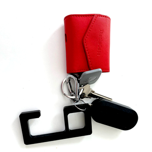Germ Free No Touch Door Opener fits directly on any keyring
