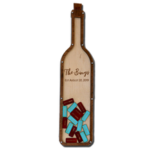 Load image into Gallery viewer, Personalized Wine Bottle Guestbook