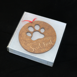 2019 Personalized Wood Ornaments