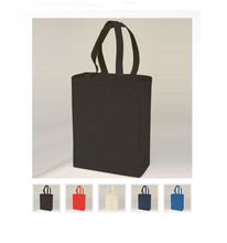 Load image into Gallery viewer, Canvas Shopping Tote with Custom Logo - One Dozen