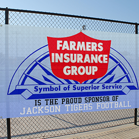 Single-Sided Mesh Banner