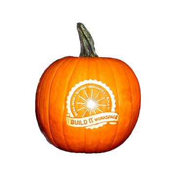 Laser Engraved Pumpkin