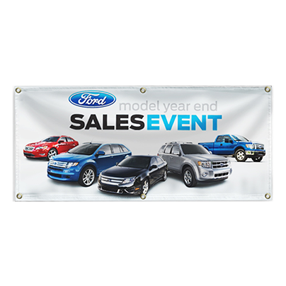Single-Sided Vinyl Banner