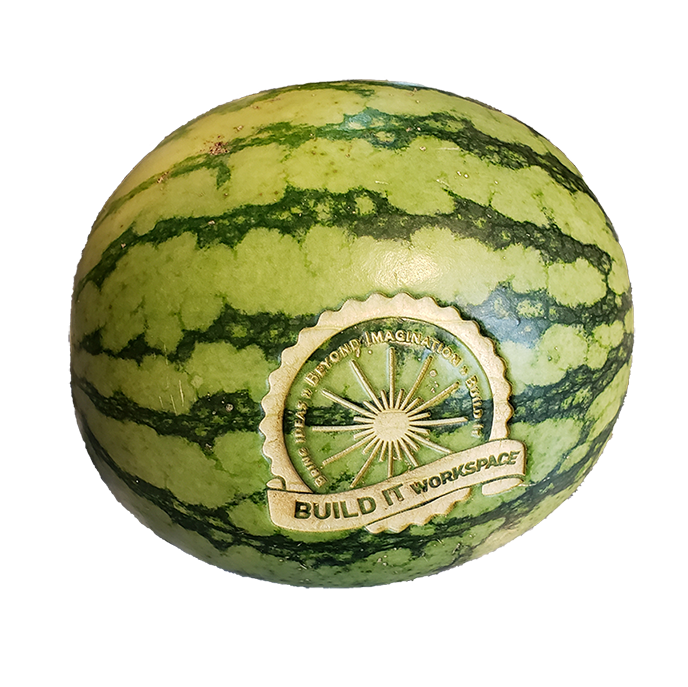 Laser Engraved Watermelon