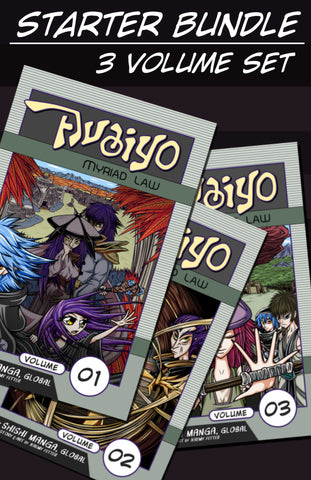 Avaiyo Starter Bundle, Volumes 01 - 03