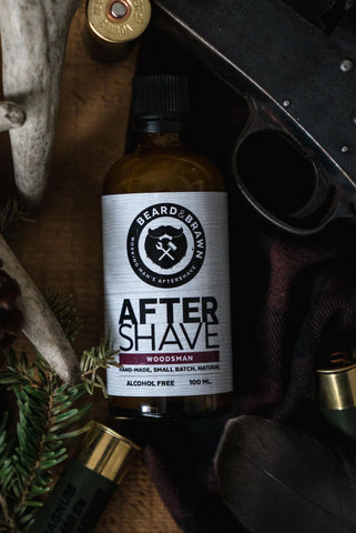 Woodsman Aftershave
