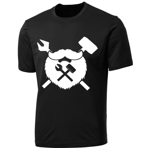 Black Beard & Crossbones Tee