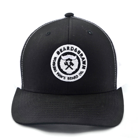 Retro Fit Beard & Brawn Trucker Hat