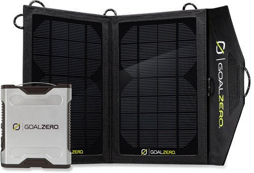 Sherpa 50 Battery pack solar kit