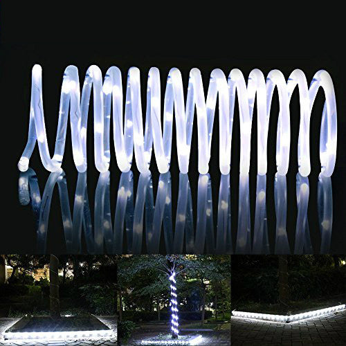 White Solar Rope Light