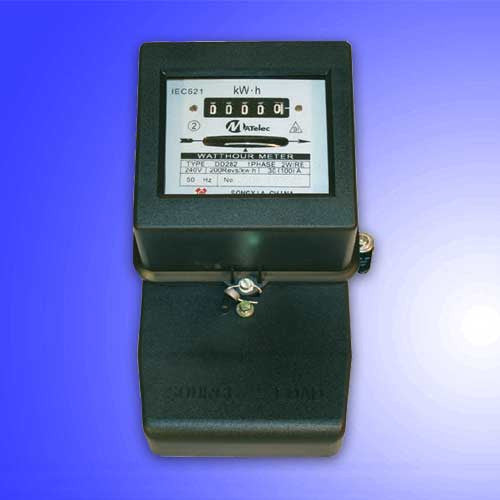 Single Phase kWH Meter Direct 20 - 80A