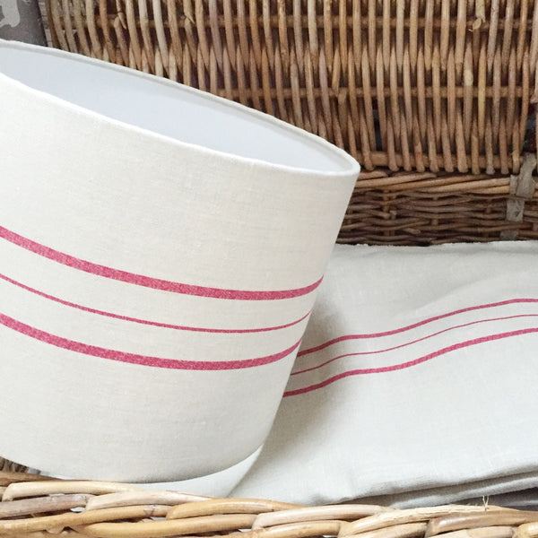 Lampshades We Love : The Swiss Stripe Drum