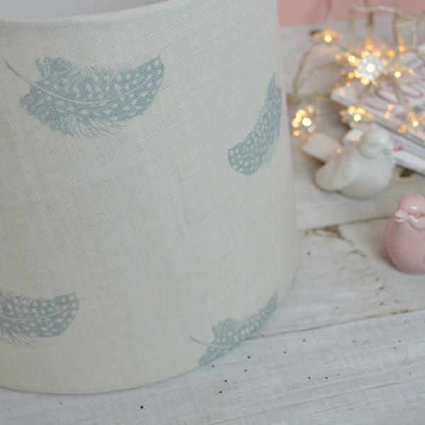 Peony & Sage Falling Feathers Duck Egg - Offcut - Lolly & Boo